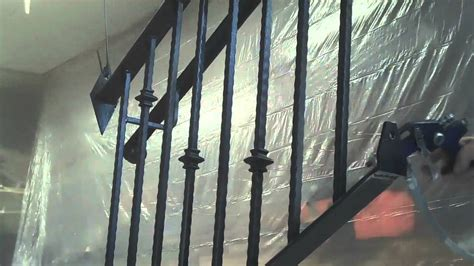 Spindles And Banisters How To Paint Decorative Iron Railings By Mitchell Dillman
