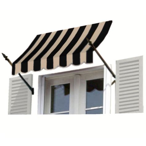 home depot window awnings awntech 4 ft charleston window awning 44 in h x 24 in