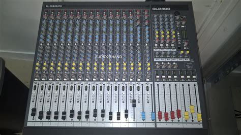 Mixer Allen Heath Gl2400 16 allen heath gl2400 16 image 1645880 audiofanzine