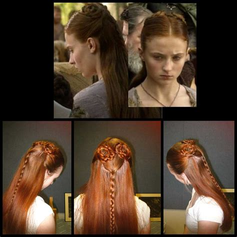 game of thrones hair styles kissed by fire the hair of thrones
