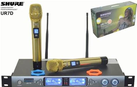 Mic Shure Ur12d White Edition Wireless Microphone dinomarket pasardino microphone wireless shure china