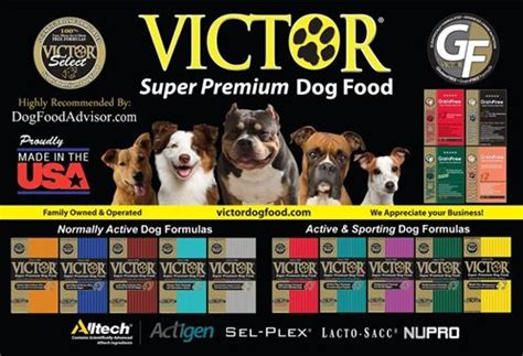 victory food victor pet food treats farmers association