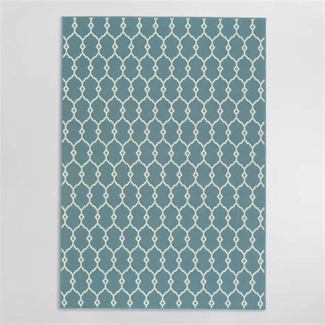 World Market Outdoor Rugs Blue Lace Indoor Outdoor Area Rug World Market