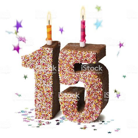 number fifteen  chocolate birthday cake stock photo  pictures  anniversary istock
