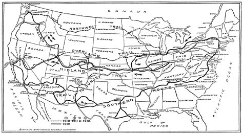 map of the oregon trail to map two trails across continent new york times may 4