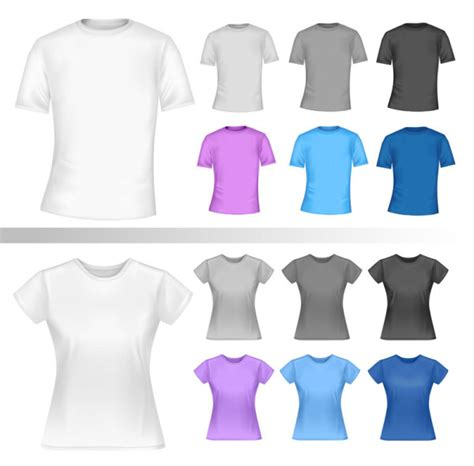 exquisite t shirt template free vector 03 vector life