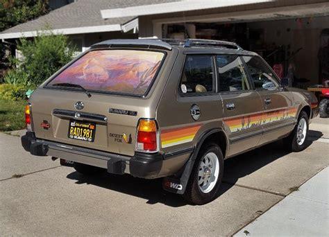 subaru wagon desert fox 1981 subaru gl wagon