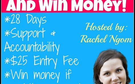 Lose Weight Win Money - lose weight this holiday season and win money fit with rachel