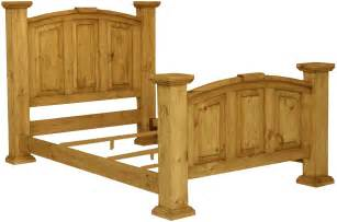 Wooden King Bed Frames Unique Rustic Bed Frames Designs Decofurnish