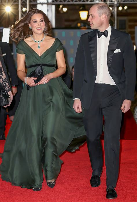 prince william and kate middleton at the bafta awards 2018 allison janney met kate middleton at the baftas people com