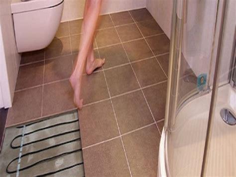 heated floors in bathroom the heated tile floor project preparation floor heating