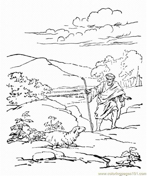 sheep pen coloring page coloring pages parablelostsheep animals gt sheeps free