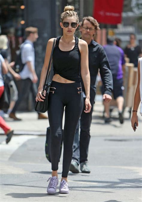 gigi hadid workout and diet celebritiesofcolor gigi hadid out in new york city