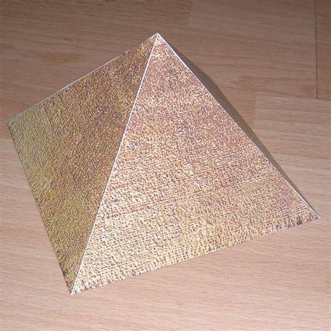 Papercraft Pyramid - how to make a paper pyramid car interior design