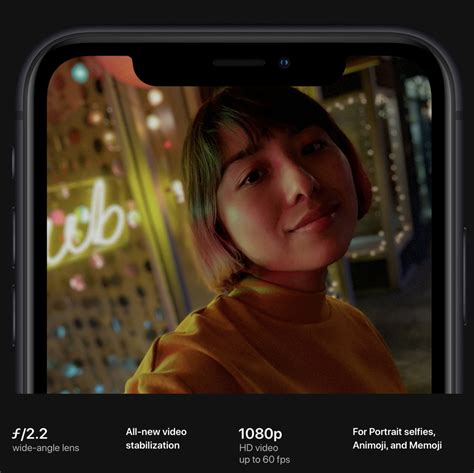 iphone xs iphone xs max and iphone xr shoot 1080p in 60 fps using the front