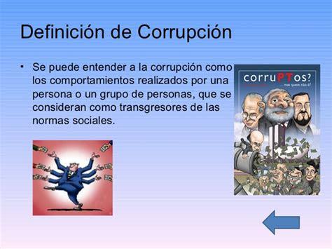 Definicion De Corrupcion Picture And Images