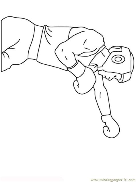 boxing coloring pages to print coloring pages