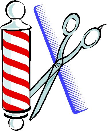 haircut clipart free free barber pole clipart cliparts co