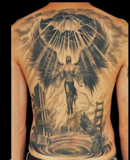 male angel tattoo designs top 60 eye catching tattoos for with meaning