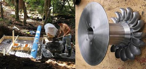 powers his home from local with diy micro hydro
