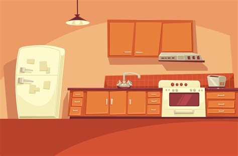 kitchen cartoon cartoon kitchen cartoon animation backgrounds digital