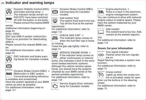 bmw x3 warning lights 2007 bmw x3 dashboard warning lights