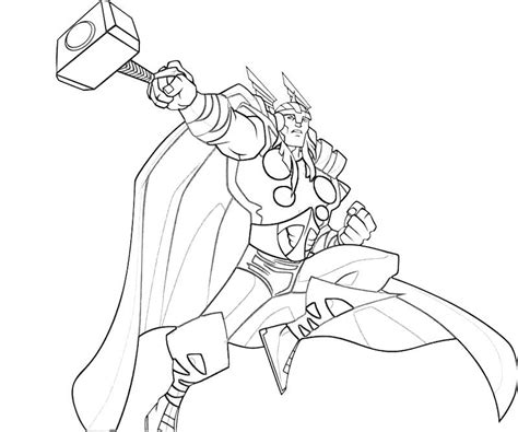 Coloring Pages Thor free printable thor coloring pages for