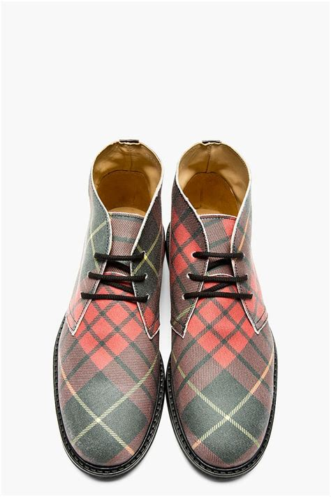 best mens desert boots the best s shoes and footwear plaid desert boot