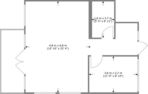 room dimensions app overview of measurements on floor plans app roomsketcher help center