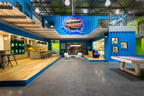 Kens Garage ken block s hoonigan racing division shipping container headquarters