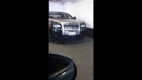 drake rolls royce phantom drake s rolls royce ghost in downtown toronto youtube