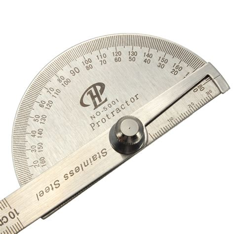 Protactor Bodi creative steel protractor angle finder rule measure tool for machinist designer ebay