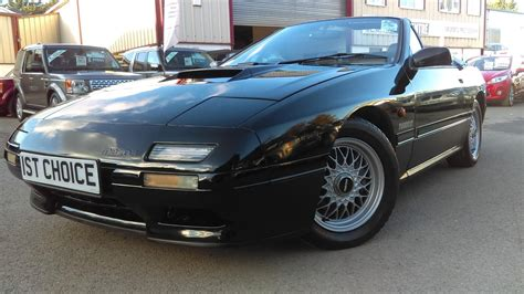 how petrol cars work 1992 mazda rx 7 electronic throttle control used 1992 mazda rx 7 rx7 turbo convertible 1 lady owner just 27000 miles full history how rare