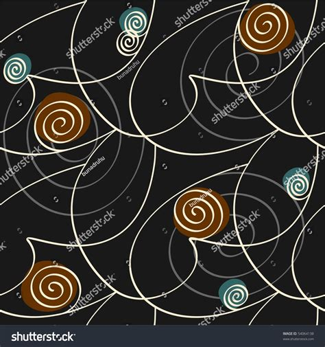 curl pattern en francais curl pattern stock vector illustration 54064138 shutterstock
