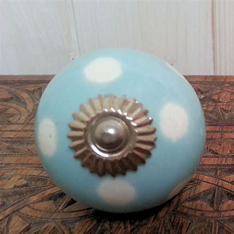 Interesting Door Knobs by Lots Of Ceramic Door Knobs Brights Polka Dots Stripes