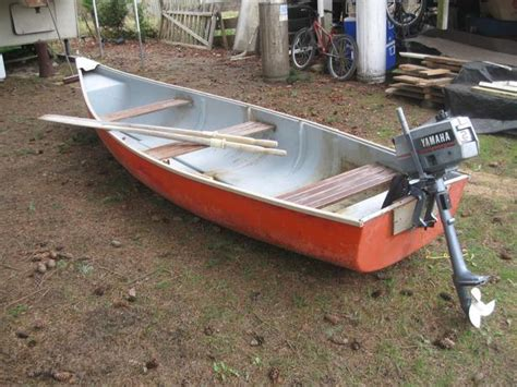 canoes with square stern square stern wide scanoe canoe fiberglass motor has sold