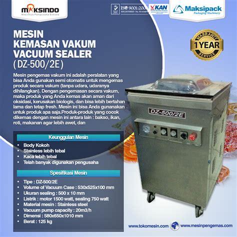 Mesin Vakum Makanan mesin vacuum sealer pengemas vakum lengkap terbaru toko