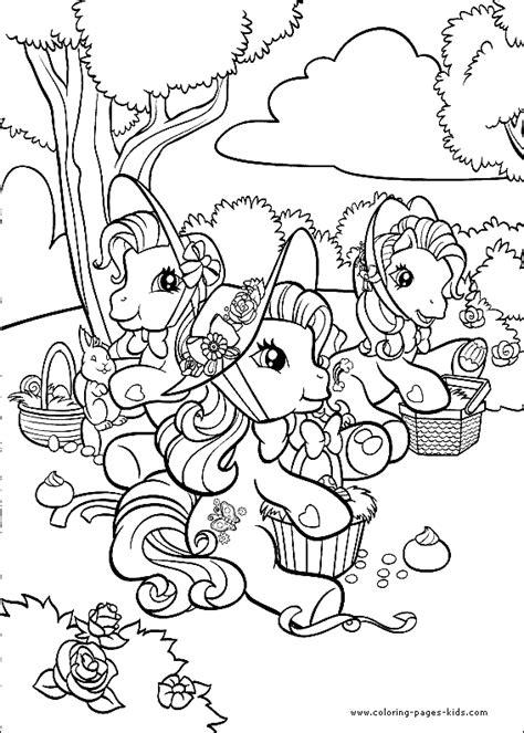 Petit Poney #121 (Dessins Animés) – Coloriages à imprimer