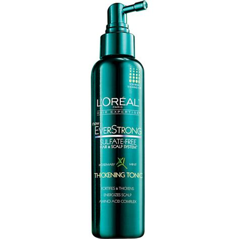 Loreal Hair Tonic l oreal everstrong thickening tonic 5 1 fl oz