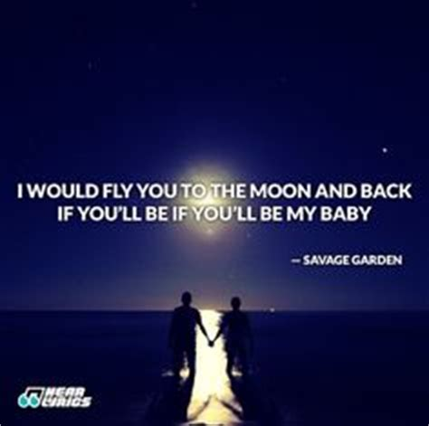 To The Moon And Back Savage Garden - the brave die never though they sleep i by minot j