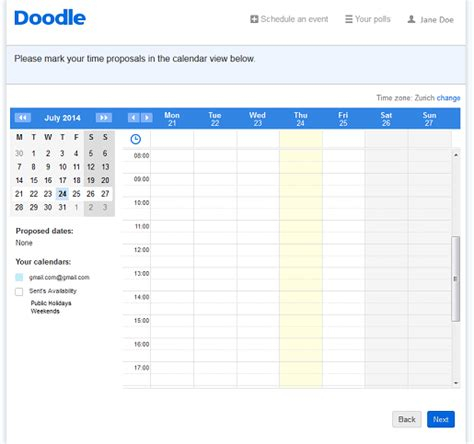 Online Planner Free | the many benefits and uses of doodle s online planner doodle