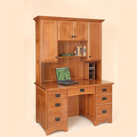flat computer desk 60 quot flat top computer desk w hutch raised panel