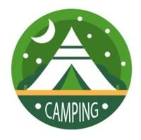 free holiday letter templates camping logo vector ai free download