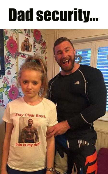 Dad Daughter Meme - dad security