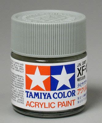 acrylic paint flammable tam81312 81312 tamiya acrylic xf 12 japanese navy gray 3 4