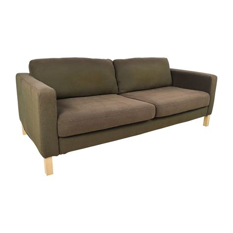 ikea light brown sofa ikea brown sofa stocksund two seat sofa nolhaga grey beige