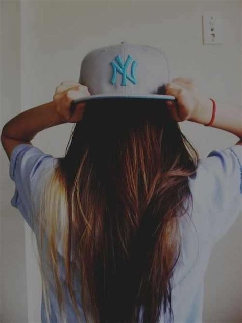 hair the swag girl with a cap swag style pinterest sexy girls