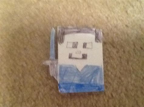 How To Make A Paper Steve - origami steve origami yoda