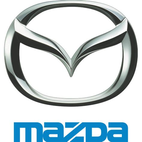 mazda logo iron on sticker version 2 mazda2 cad 2 50