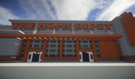 home depot ecs minecraft project